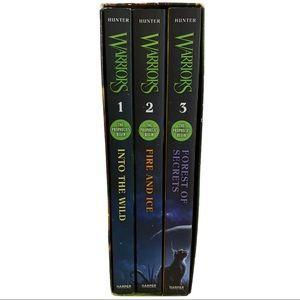 Warriors Box Set: the Prophecies Begin Volumes 1-3